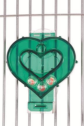 צעצוע לב ירוק